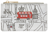 Accessorize Glitter London Streets Travelcard Holder