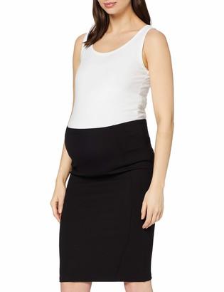 Mama Licious MAMALICIOUS Women's MLLUNA JERSEY PINTUC SKIRT Maternity Skirt