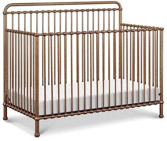 Million Dollar Baby Classic Winston 4 in 1 Convertible Crib in Vintage Gold