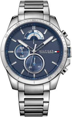 Tommy Hilfiger Stainless Steel Chronograph Link Bracelet Watch