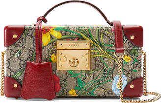 Gucci Padlock GG Flora Jewelry Case
