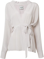 Rachel Comey wrap blouse - women - Silk - XS