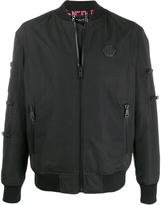 Philipp Plein Teddy Bear bomber jacket