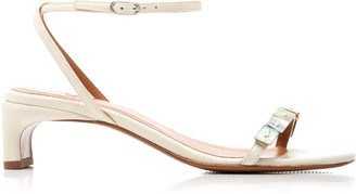 LOQ Perla Leather Sandals