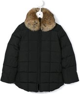 Tartine et Chocolat padded coat - kids - Feather Down/Rabbit Fur/Polyester - 6 yrs