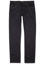 Armani Jeans J45 Indigo Straight-leg Jeans