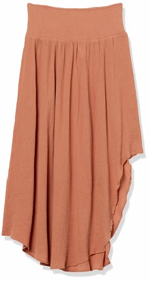 Seafolly Women's Cover Up Midi Skirt with Shirred Detail