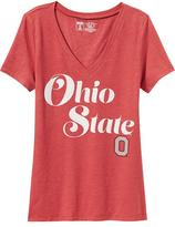 Old Navy College Team V-Neck Tee