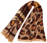 Charlie Paige Leopard Scarf