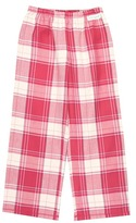 Life is Good Girls' Plaid Sleep Pant (Toddler/Little Kids/Big Kids) (Dusty Pink) - Apparel