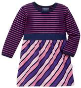 Toobydoo Multi-Striped Dress (Baby & Toddler Girls)