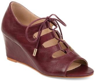 Journee Collection Kortlin Wedge Sandal