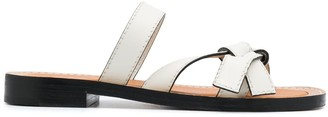 Loewe Knot Detail Sandals