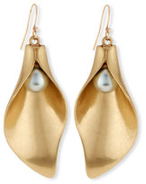 Lulu Frost Jardin Sculpted Drop Earrings