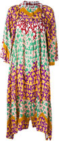 Tsumori Chisato patterned shift dress - women - Rayon - S