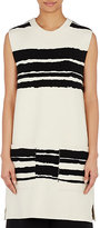 Proenza Schouler Women's Broken-Striped Sleeveless Tunic-BLACK, WHITE