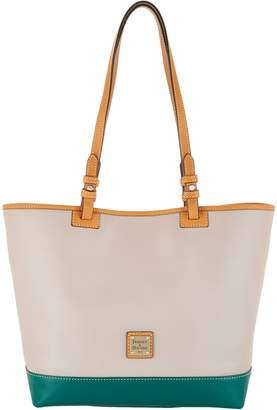 Dooney & Bourke Smooth Leather Tote Handbag - Lee