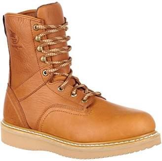 Georgia Boot Men's 8 Inch Wedge Steel Toe Work Shoe