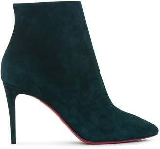 Christian Louboutin Eloise Booty 85 suede boots