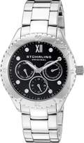 Stuhrling Original Women's 549.02 Symphony Regent Gala Quartz Day and Date Stainless Steel Bracelet Watch