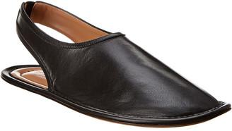 Marni Leather Leather Slingback Flat