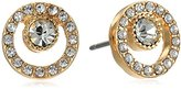 "Laundry by Shelli Segal Sunset Boulevard"" Pave Stone Stud Earring"
