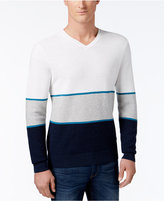 Michael Kors Men's Walden Colorblocked V-Neck Sweater