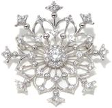 """3.54ctw Absolute """"Snowflake"""" Pin"""
