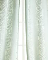 "Legacy Two 108""L Lattice Curtains"