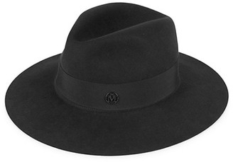 Maison Michel Henrietta Waterproof Rabbit Fur Felt Fedora