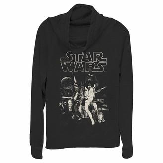 Star Wars Junior's Women's Cowl Neck Sweater