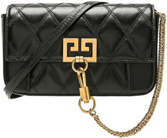 Givenchy Mini Pocket Chain Bag in Black | FWRD