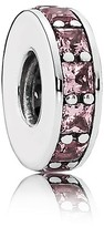 Pandora Spacer - Sterling Silver & Crystal Eternity, Moments Collection