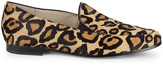 Sam Edelman Lanti Leopard-Print Calf Hair Loafers