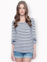 Splendid Venice Stripe Pocket Tee
