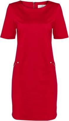 Wallis PETITE Red Studded Shift Dress