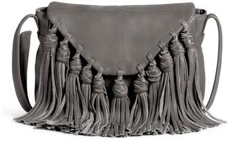 Day & Mood Lee Leather Fringe Crossbody Bag