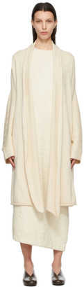 LAUREN MANOOGIAN Off-White Long Slouch Cardigan