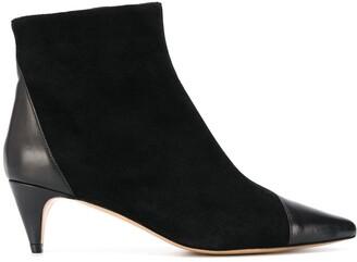 Isabel Marant Kitten Heel Pointed Boots