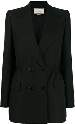 Gucci Elasticated Waist Detail Blazer
