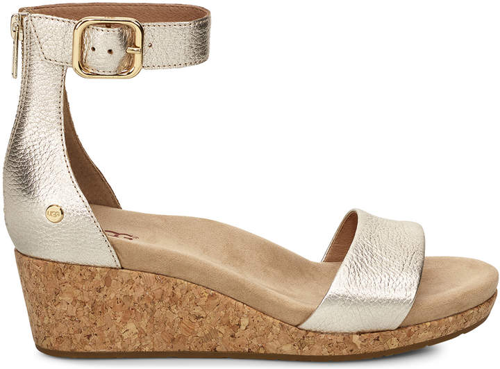 88657a91597 Women's Zoe Ii Metallic Leather In Color: Gold Shoes Size 6 From Sole  Society