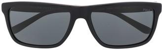 Polo Ralph Lauren Rectangle-Frame Tinted Sunglasses
