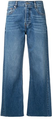 IRO Flared Cropped Jeans