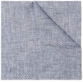 Oliver Spencer Radford Linen Jacquard Pocket Square