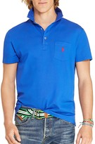 Polo Ralph Lauren Stretch Cotton Mesh Slim Fit Polo Shirt