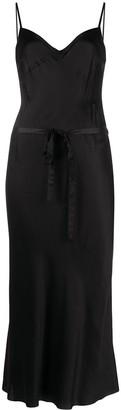 Ann Demeulemeester Belted Slip Dress