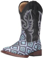 Roper Kids' Glitter Diamonds Western Boot