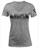 5th & Ocean Women's Oakland Raiders Touchback LE T-Shirt