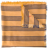 Bobo Choses striped scarf - kids - Linen/Flax/Viscose - One Size