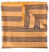 Bobo Choses striped scarf - kids - Viscose/Linen/Flax - One Size